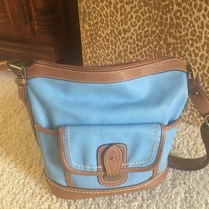 BOC All Leather Shoulderbag/Crossbody